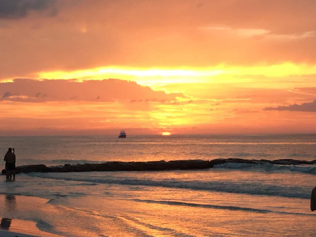 coucher de soleil Holbox