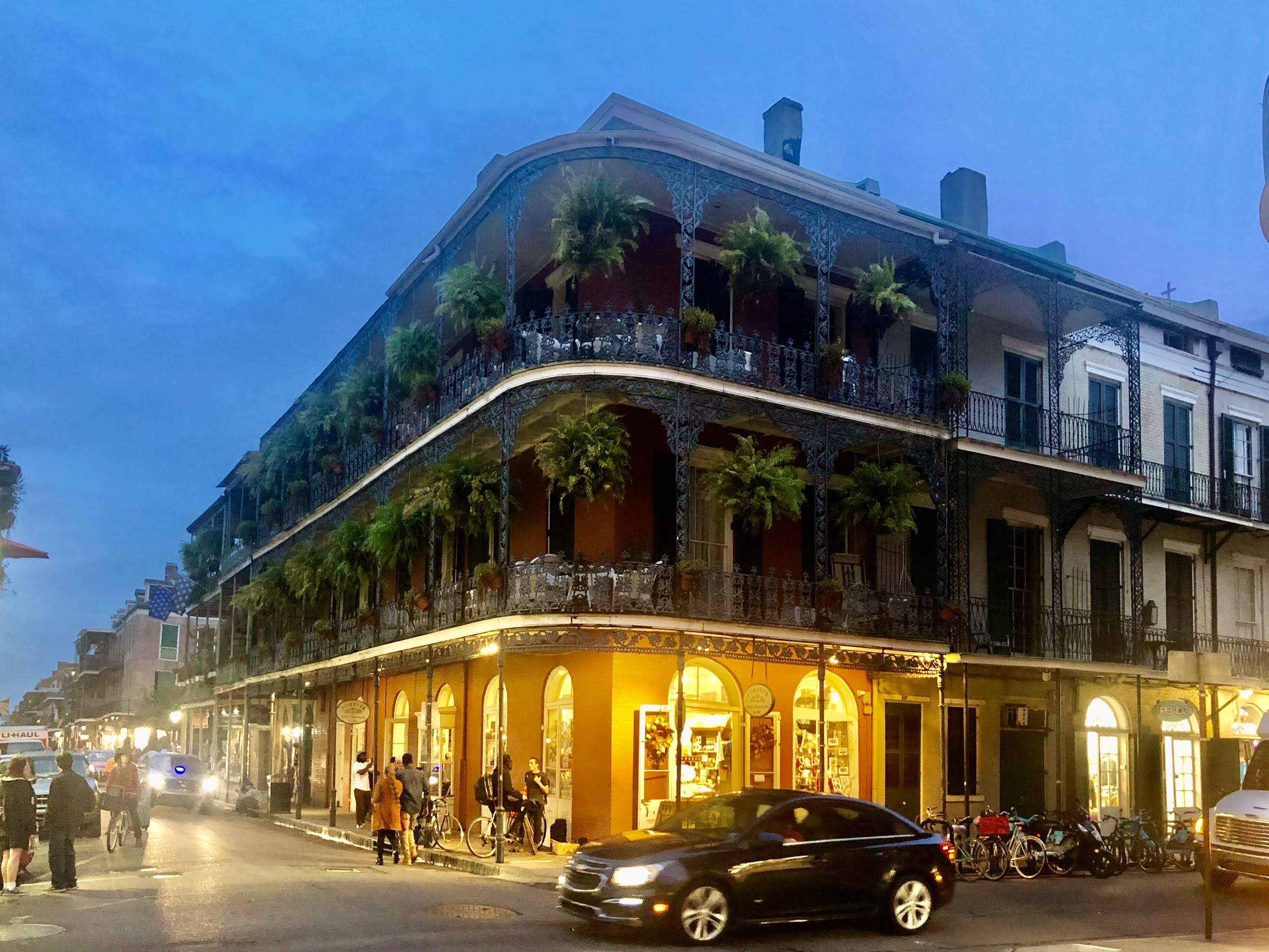 French Quarter - Bourbon Street